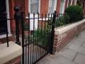 Victorian railings rose bud railhead