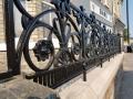 cast iron railing panel