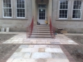 Grand entrance handrails
