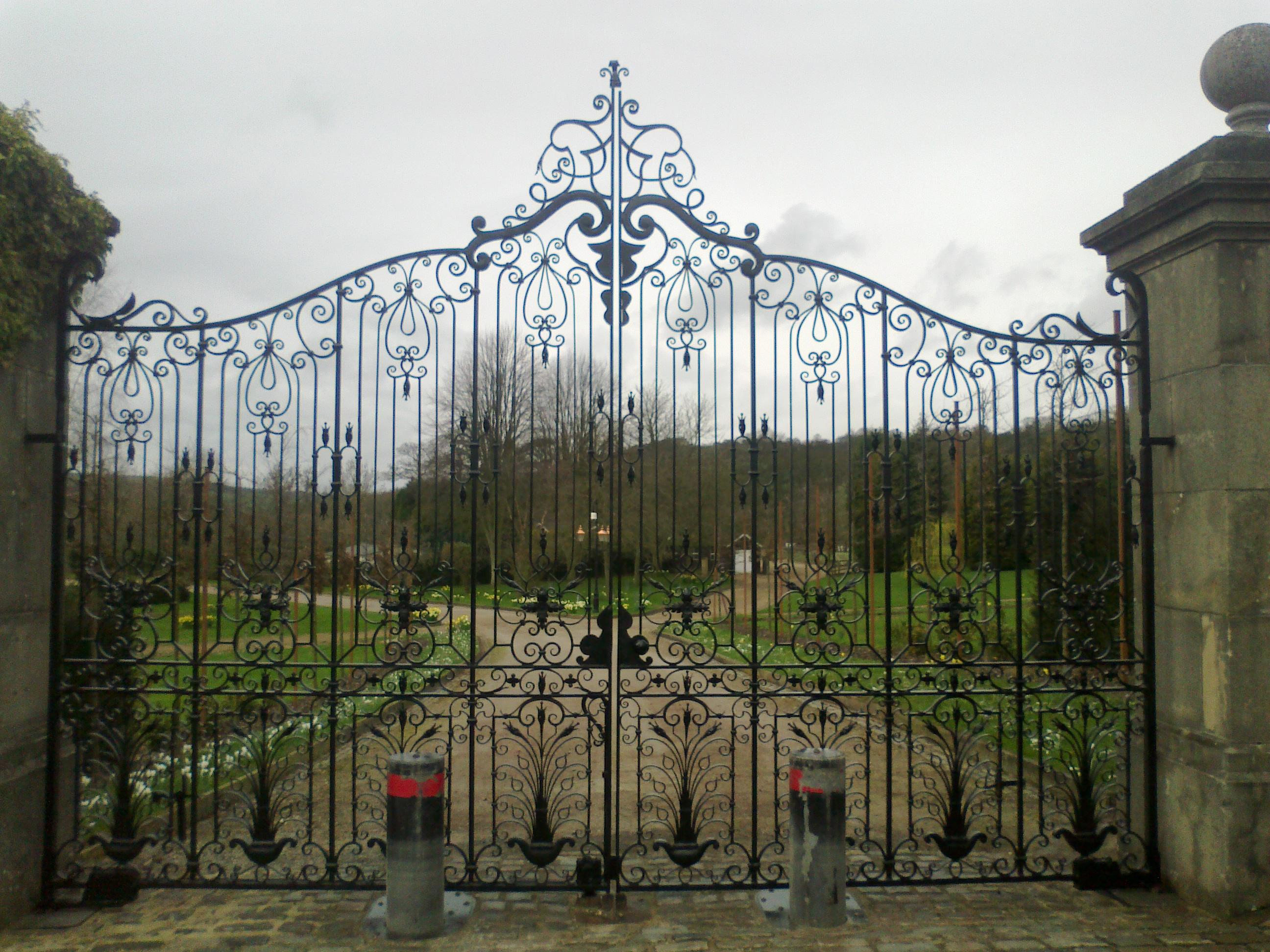 Wrought iron Entrance gates